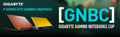 GIGABYTE Gaming Notebooks Cup (GNBC)